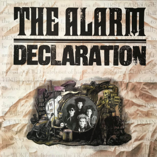 Alarm (The) - Declaration (LP) (VG/VG+)